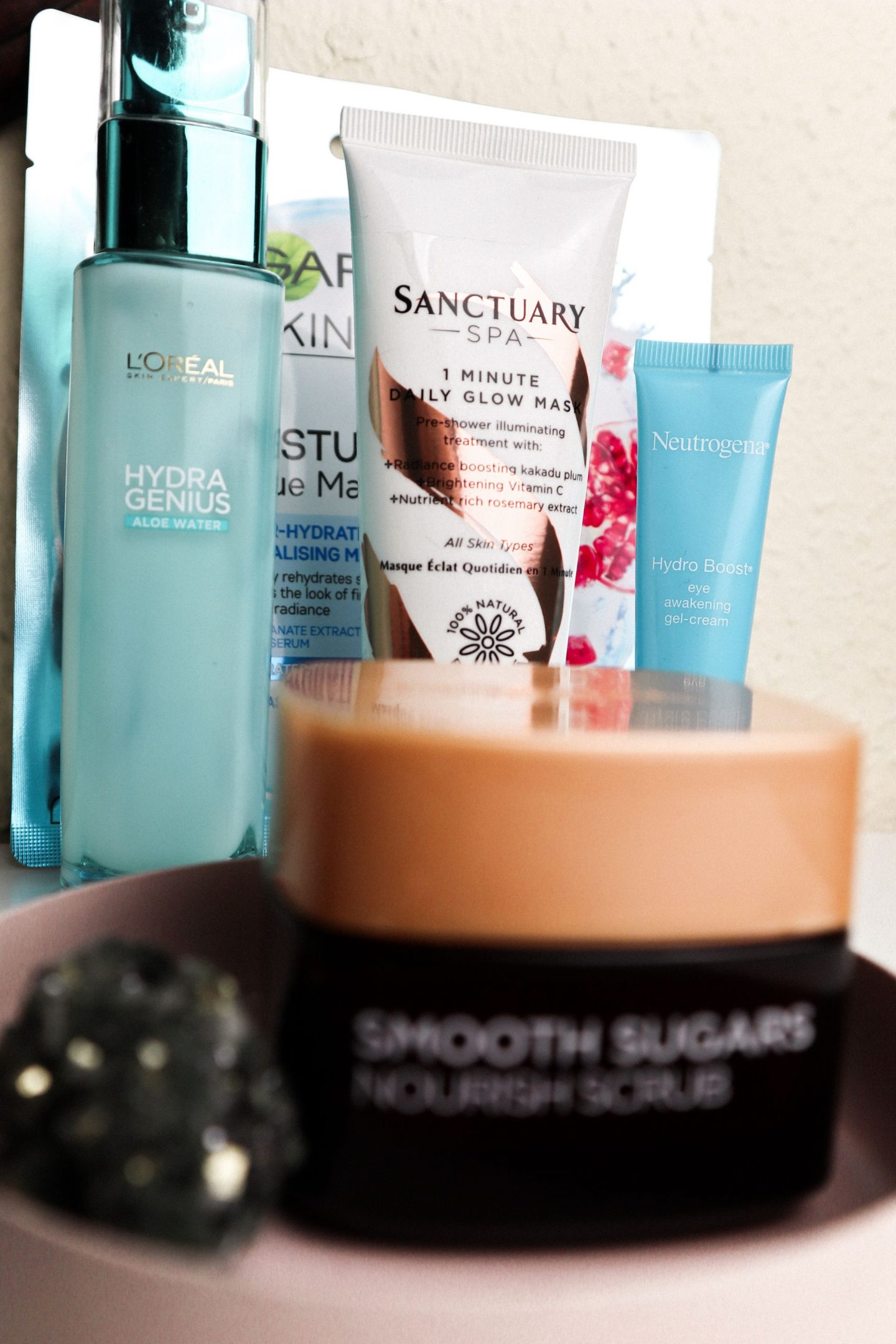 Best drugstore products - L'oreal, garnier and neutrogena