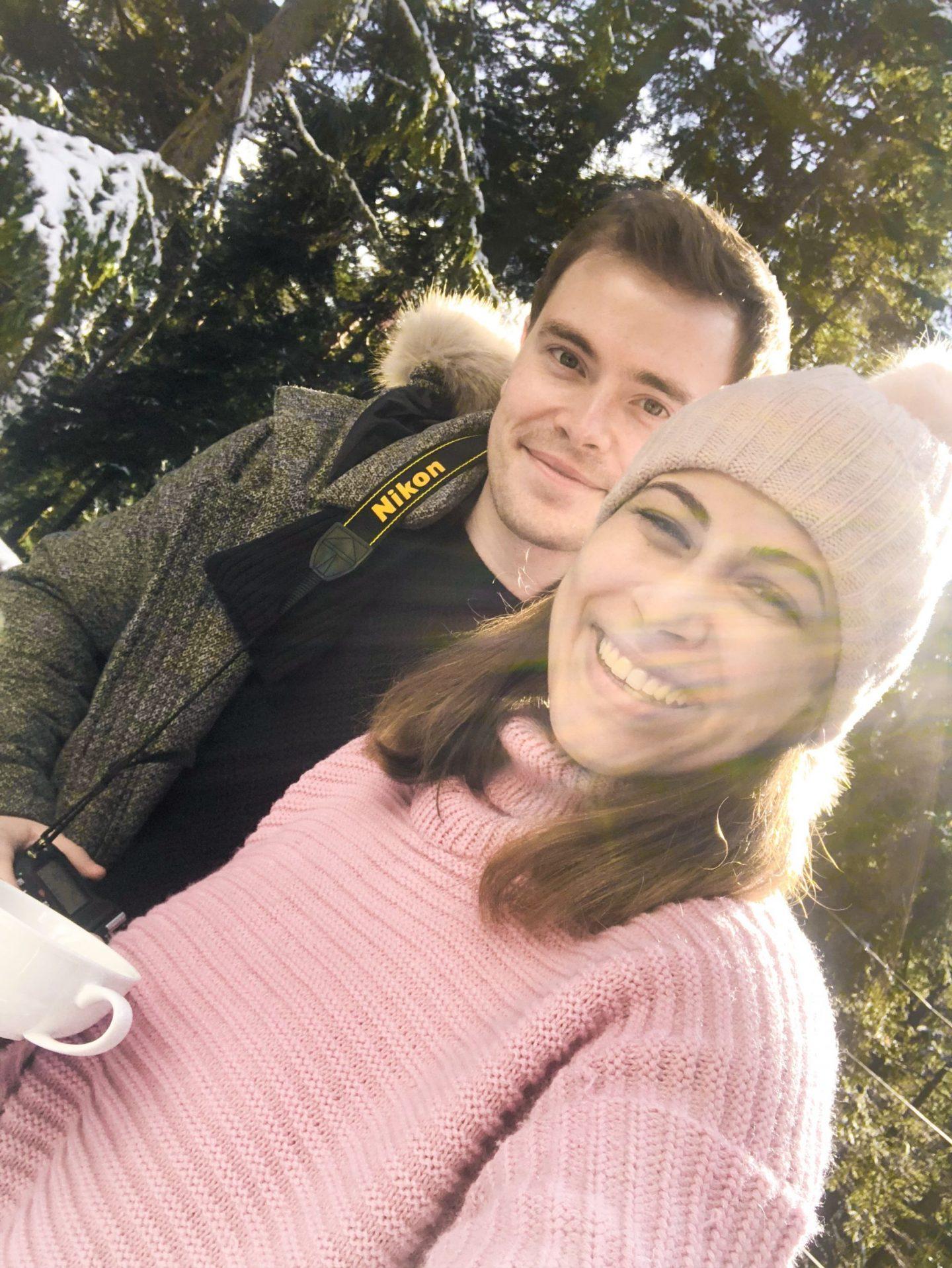 Kristina and Simon selfie