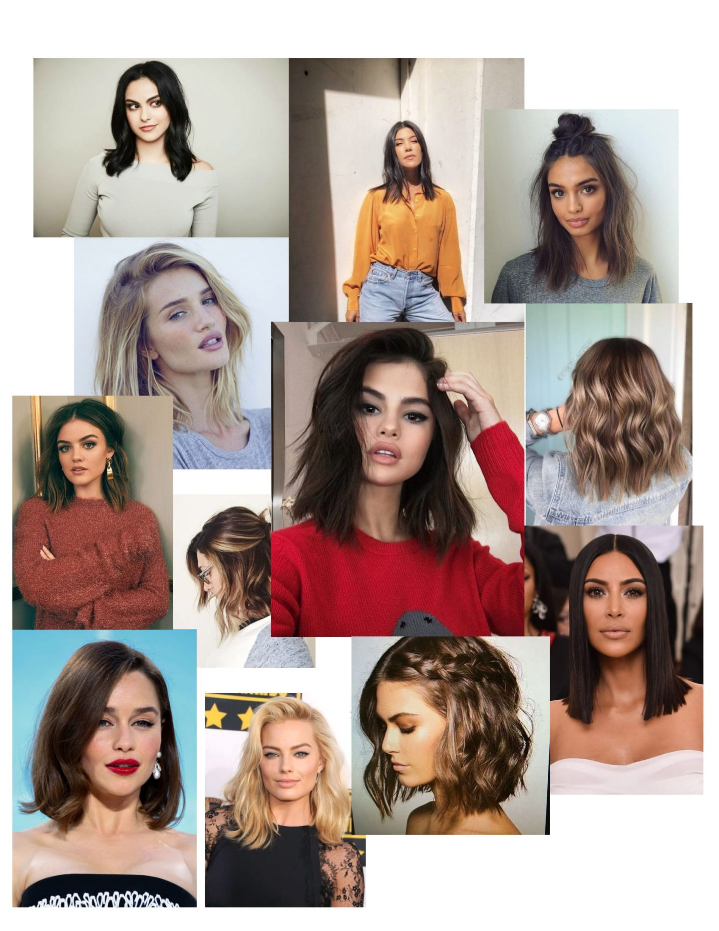 Short Hair Mood Board