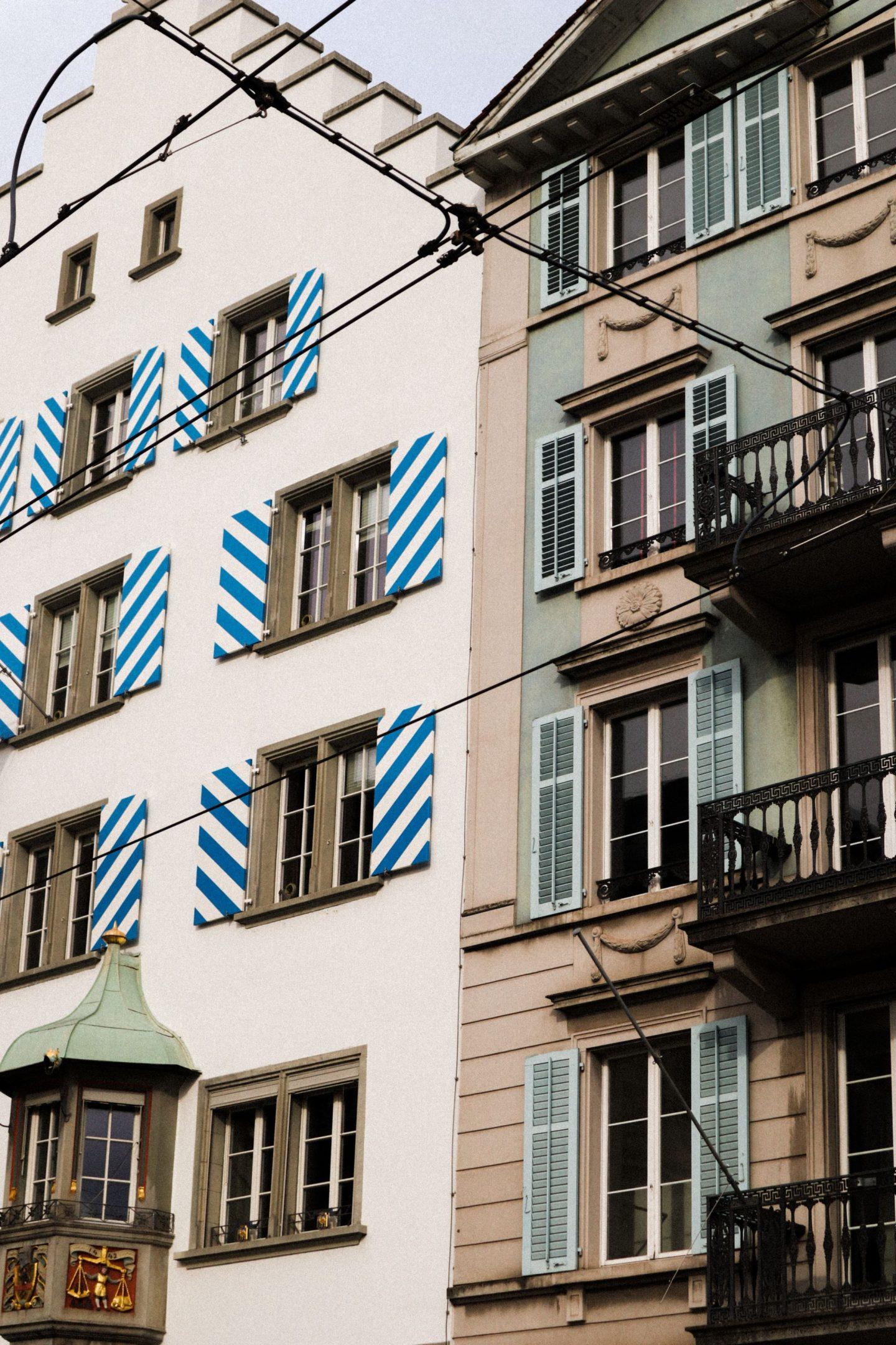 Zurich city houses