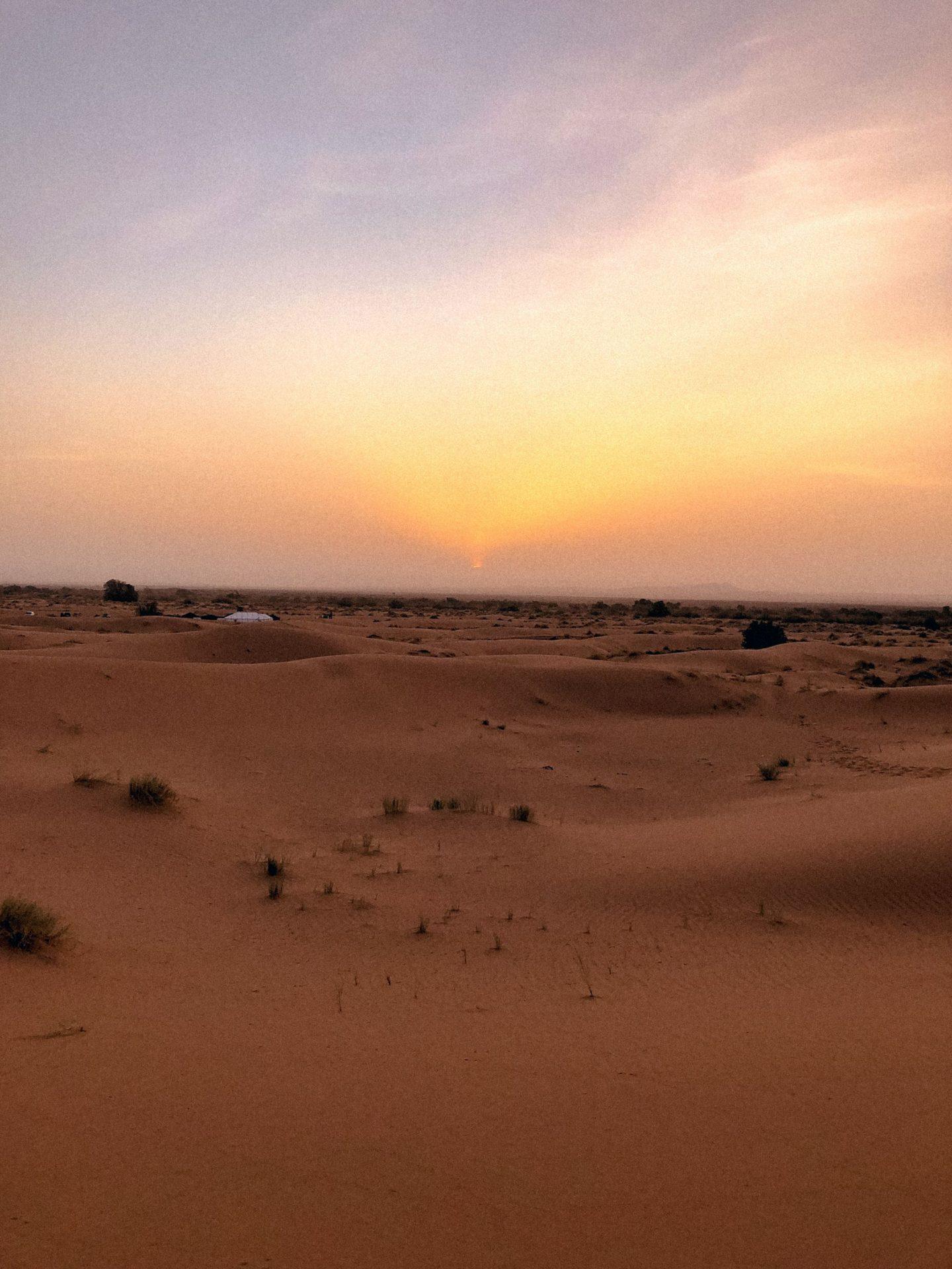 Sunrise at the Sahara Desert, Morocco