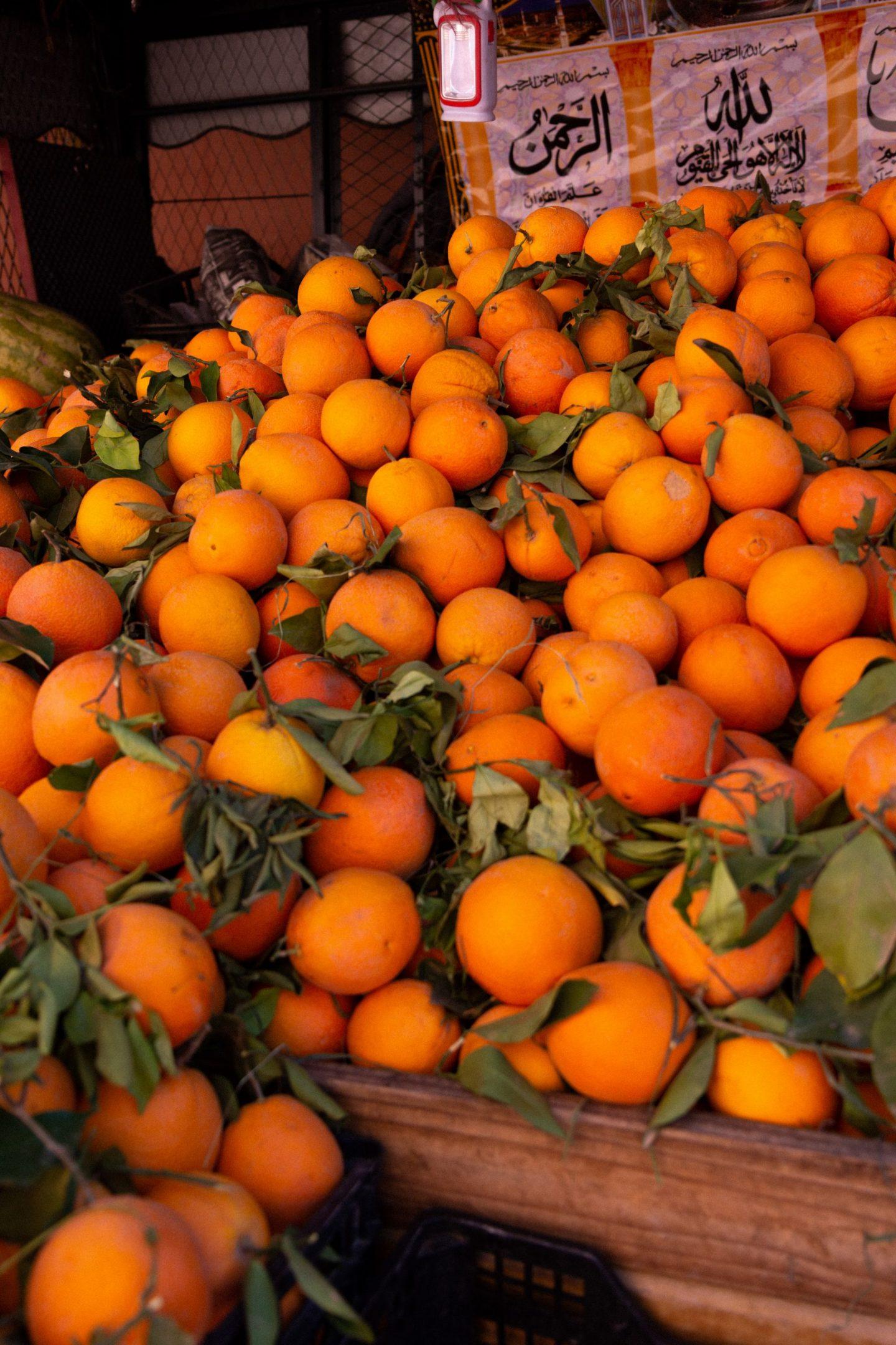 Marrakesh Oranges