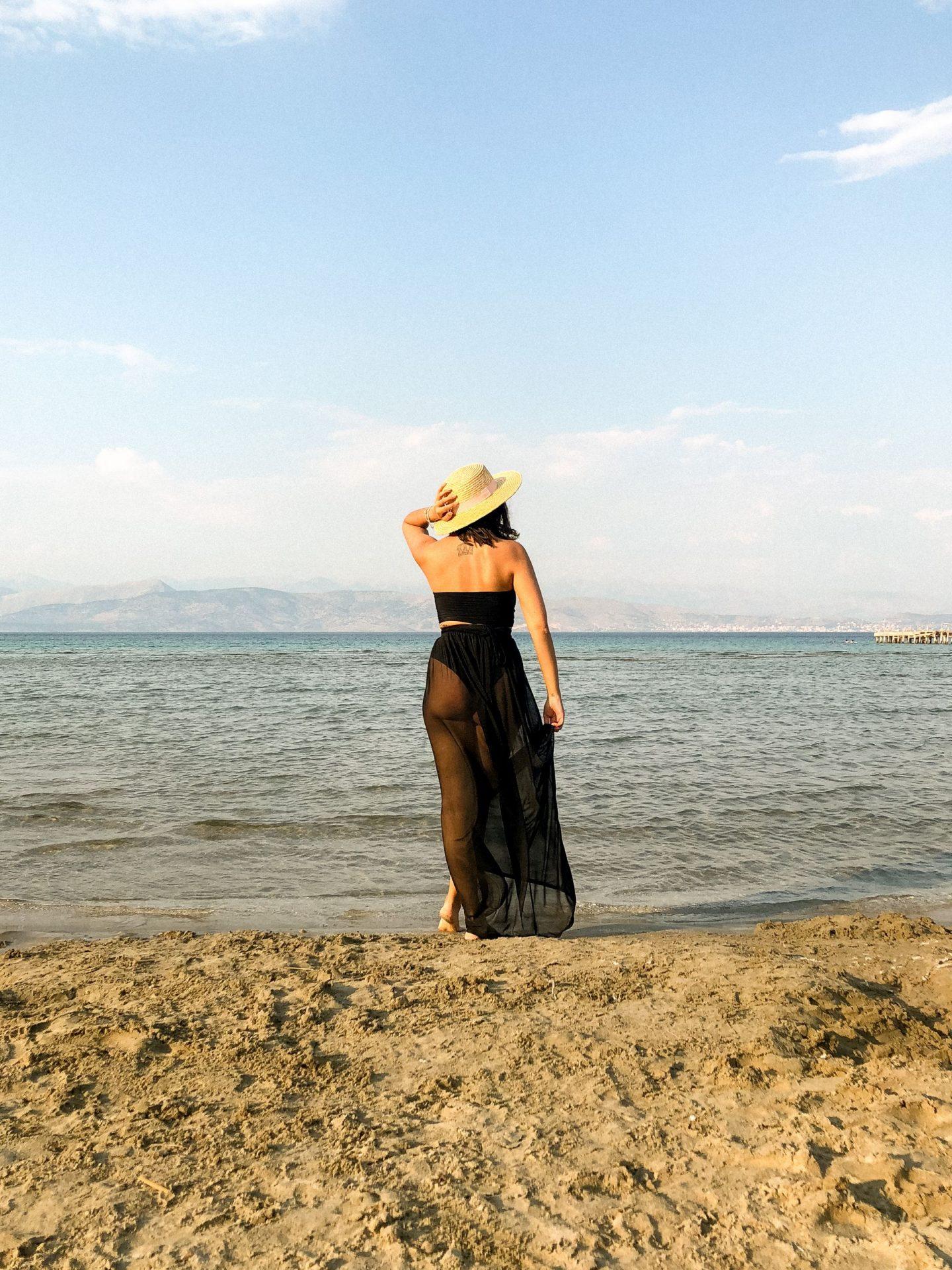 apraos beach, corfu