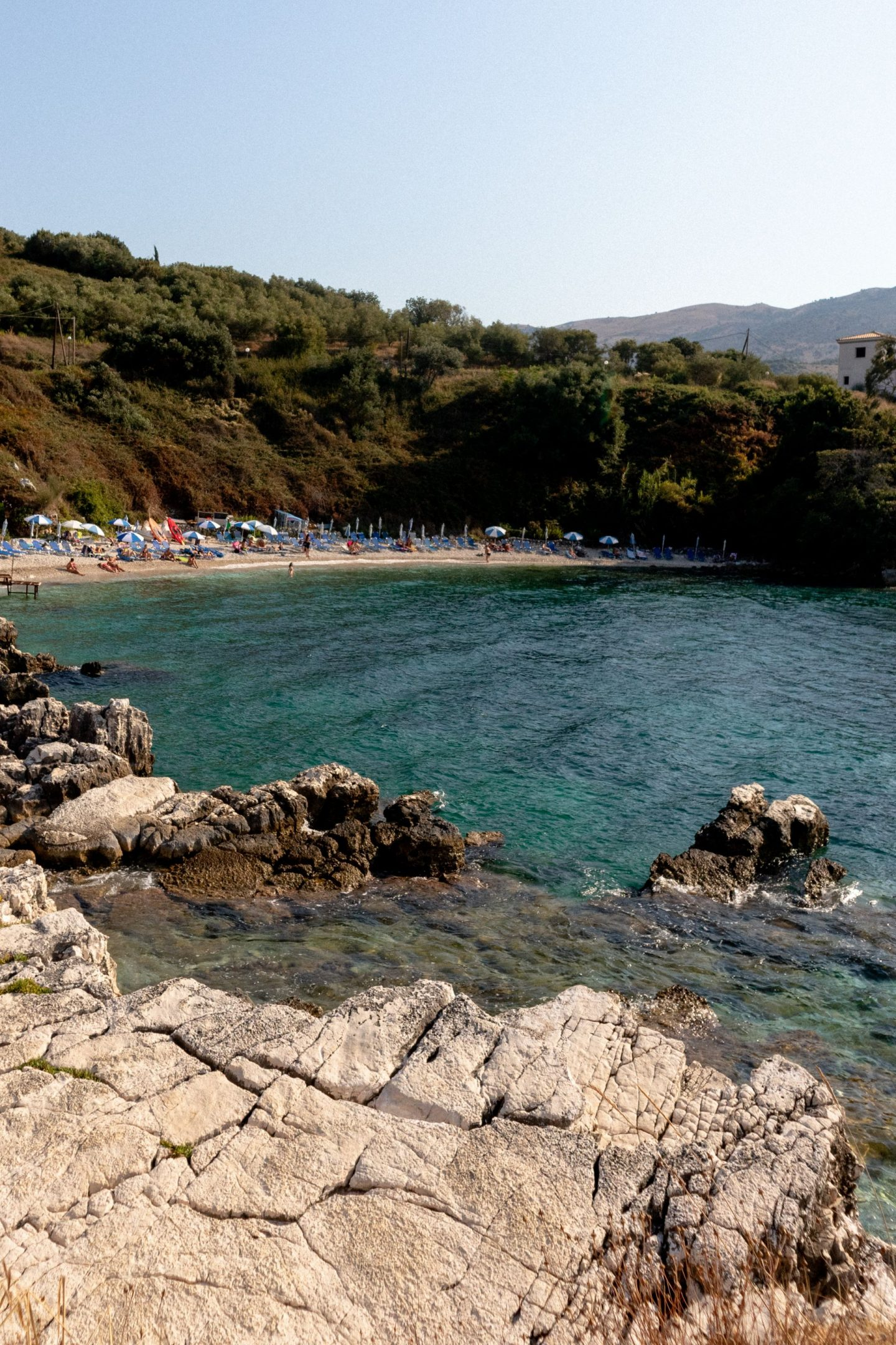 Pipitou Beach, Kassiopi, Corfu, Greece