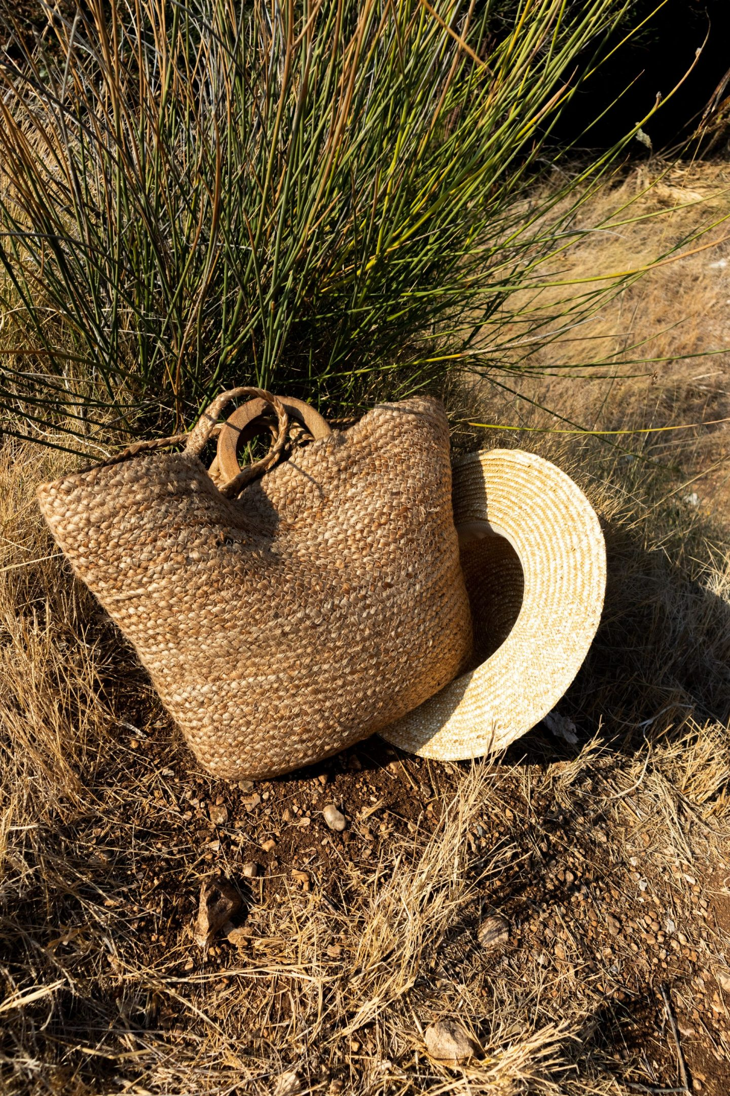 Straw bag and hat, Greece